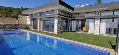 Photo for Contemporary Style Honeymoon Villa with Secluded Pool and Heated Indoor Pool