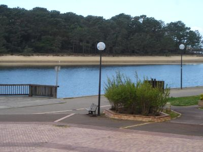 Photo for T2 + cabin. At the edge of the marine lake with breathtaking views of the lake. Bathing,