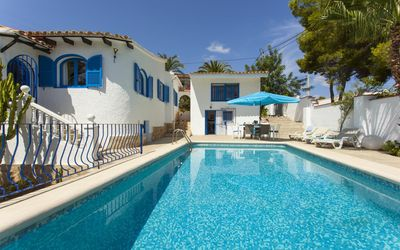 Photo for <![CDATA[SABATERA - Villa with private pool for 8 people in Moraira]]>