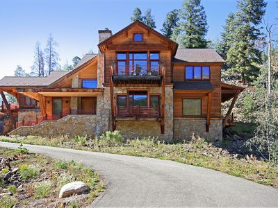 Photo for Beautiful 5 Bdrm Private Home w/ Hot Tub & Ski Slope Views