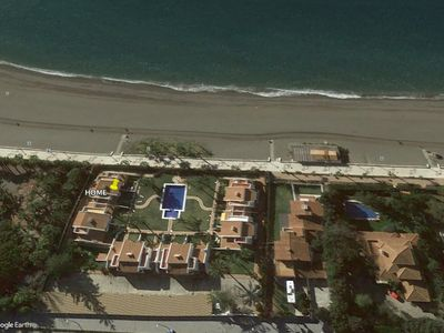 Photo for WONDERFUL HOUSE BEACHFRONT WITH A SPACIOUS TERRACE, SWIMMING POOL & FREE WIFI