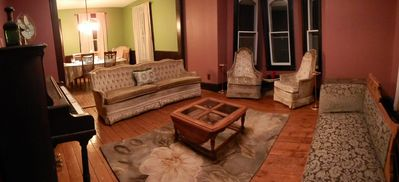 Photo for Elegant  Eco Friendly Victorian in the heart of the Catskills