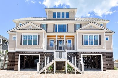 Street View of Oceanfront Home