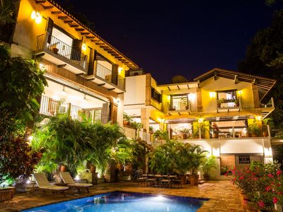 Photo for Oceanfront Conchas Chinas -Spectacular Hacienda-Tropical Estate -Chef/ Staffed