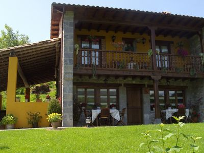 Photo for Authentic Asturian country house between the Picos de Europa and the coast