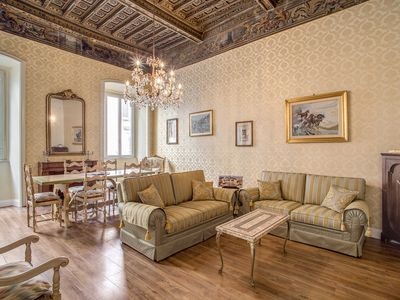 "Photo for P&F Apartment ""Exclusive"" 3 Bdr - and you're in Piazza Navona"