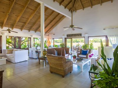 Photo for Five bedroom villa with large pool, panoramic south west view.