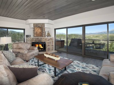 Photo for Amazing Panoramic Mountain & Lake Views! Private Hot Tub-Wrap Around Deck-Game Room-Mins from Ski