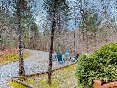 Photo for Dog-friendly lakefront cabin w/ private hot tub and paved road access!