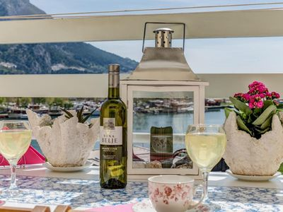 Photo for Holiday apartment Omiš for 6 - 8 persons with 3 bedrooms - Holiday apartment in one or multi-family