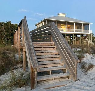 Photo for Ibis Landing Beach House...Directly on the Beach!   Don Pedro Island