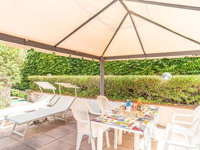 Photo for Mediterranean Apartment with Garden & Terrace; Garage Available