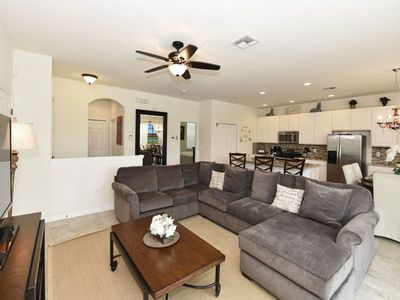 Photo for Enjoy Orlando With Us - Bella Vida Resort - Welcome To Contemporary 4 Beds 3 Baths Townhome - 7 Miles To Disney