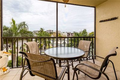 Easy Access - The living room provides quick and easy access to the balcony where you can sit and enjoy the cool breeze and share stories with a friend.