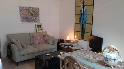 Photo for Apartment in the port and medieval neighborhood of the villa