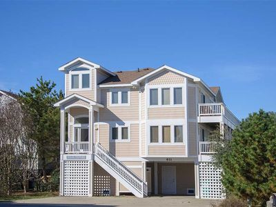 Photo for Seatime: Two lots from the ocean, private hot tub and ocean views!