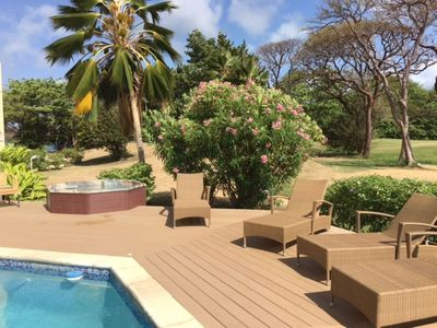 Photo for LAST MINUTE AVAILABILITY! Villa/ Pool by Sea on Championship Golf Course