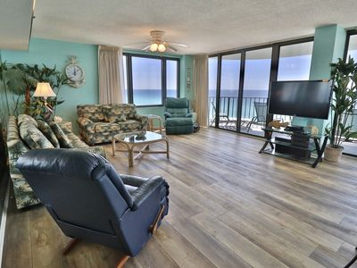 Photo for Water Crest 10th Floor Gulf Front Huge 2 BR. Best Deals!