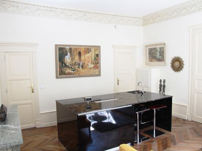 Photo for Surprenant apt T2 42m ² / 4 pers / 1 ch / fitted kitchen / living room / HEATED SWIMMING POOL