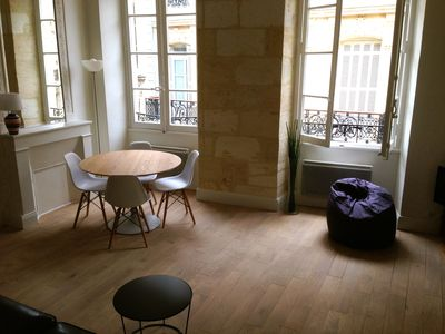 Photo for Beautiful flat located in the very center of Bordeaux