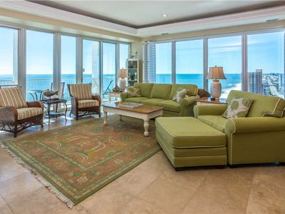 Photo for HOT DEALS! Stunning View | PENTHOUSE | Gulf Front | Liquid Life Rentals