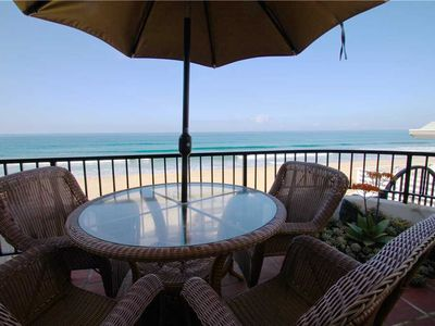 Photo for Great 2 bedroom condo on the beach with AC