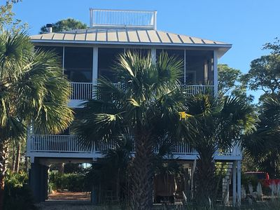 Photo for Free night with 3 day rental! Close to Beach, Golf Cart, Pet Friendly!