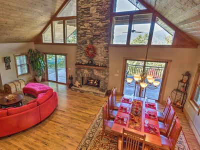 Photo for 4BR House Vacation Rental in Black Mountain, North Carolina