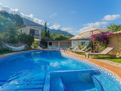 Photo for Nestled in the rolling hills of the Tramuntana mountains, between Sóller and Por