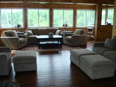 Photo for Rangeley Lake House 75 Feet from Waters Edge