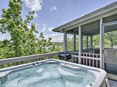 Photo for NEW! Resort Home w/ Hot Tub on Lake of the Ozarks!