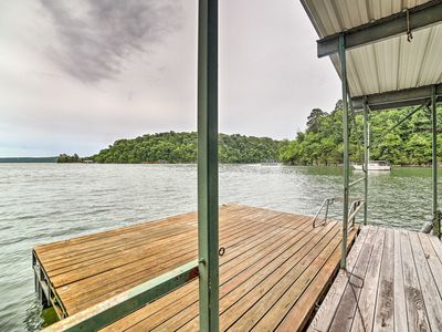 Photo for Waterfront Beaver Lake Home w/ Private Swim Dock!