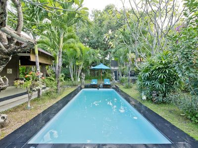 Photo for Spacious 2 Bedroom Villa Garden,Seminyak