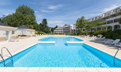 Photo for T2 RENOVATED IN RESIDENCE OF STANDING WITH PARK AND SWIMMING POOLS 200 M FROM THE BEACH