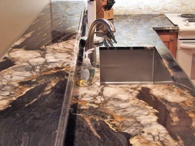 Slab Granite Kitchen