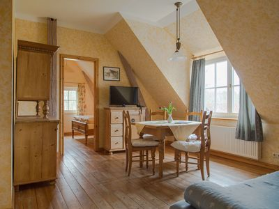 Photo for Apartment in a country house with barbecue house, terrace, sauna, breakfast