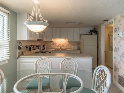 Photo for Cozy two bedroom, 2.5 bath, gulf-front tower unit on west end of beach