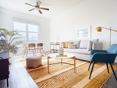 Photo for Sonder | The Millennium | Chic 2BR + Fitness Room