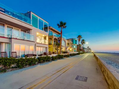 Directly Ocean Front - Two Bedroom Condo in the Heart of Mission Beach!