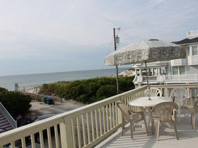 Photo for Great Ocean View / 1 house from beach /  2nd Floor Rental