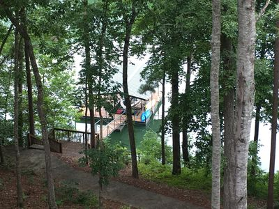 Photo for Lake Keowee Lake Front- 90 day min