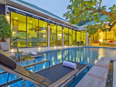 Photo for Hi At Home - 4BR Luxury Pool Villa in Pattaya