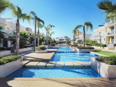 Photo for Zenia Beach - Luxurious and contemporary town house.