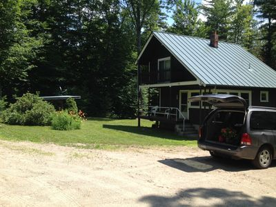 Photo for Quiet Cabin in the mountains...SNOWMOBILE, Ski, Tube, X-country, Snowshoe, hike
