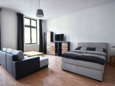 Photo for In the middle of Leipzig, max. 3 pers. , Free Wifi, 500m to downtown