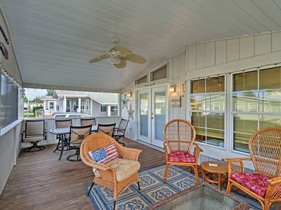 Photo for Surfside Beach House w/ Porch - 10 Min. to Coast!