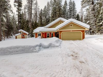 Photo for Secluded home w/ private hot tub & wood stove - near Tamarack!