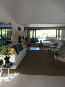 Photo for WONDERFUL HOUSE, 30 meters from the Beach Piscinas Naturais !!!
