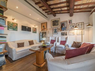 Photo for Trastevere Panoramic Rooftop Loft x4 BOOK NOW!