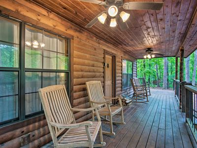 Photo for NEW-Quiet Cabin w/Hot Tub 3Mi to Broken Bow Marina